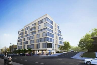 2115 Bloor Street West Condos - Exterior Rendering