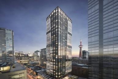 Empire Maverick Condominium - Exterior Rendering