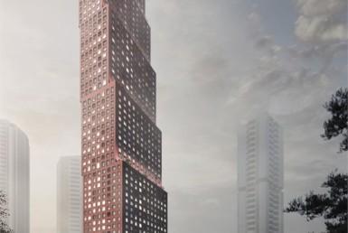 CG Tower Condo - Exterior Rendering