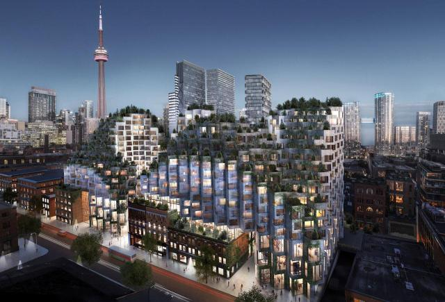 King Toronto Condo - Exterior Rendering