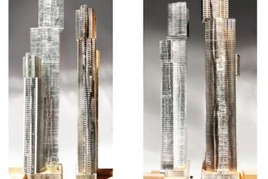 Mirvish + Gehry Condo - Exterior Rendering