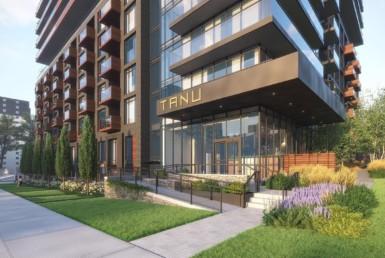 Tanu Condos -Exterior Building Rendering