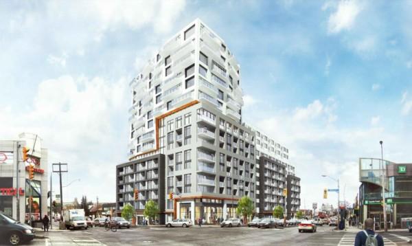 859 Eglinton Avenue West - Exterior Rendering