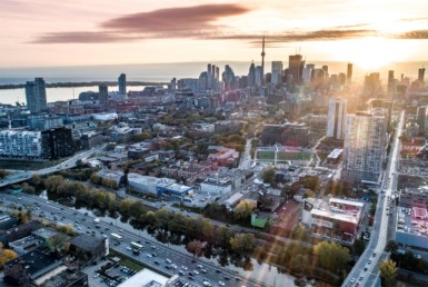 River & Fifth Toronto - Exterior Rendering